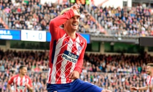 e4fc8c269815f Griezmann earns Atlético a draw after Ronaldo scores for Real Madrid ...