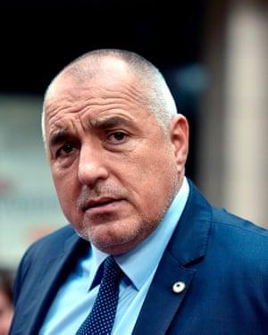 Bulgarian Prime Minister Boiko Borisov.
