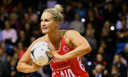 Chelsea Pitman says of England's netball coach Tracey Neville: 'There's no frothy business and she's extremely direct.'