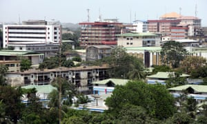 Conakry, the capital of Guinea.