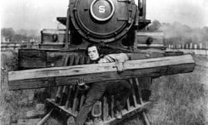 Buster Keaton in The General (1927)