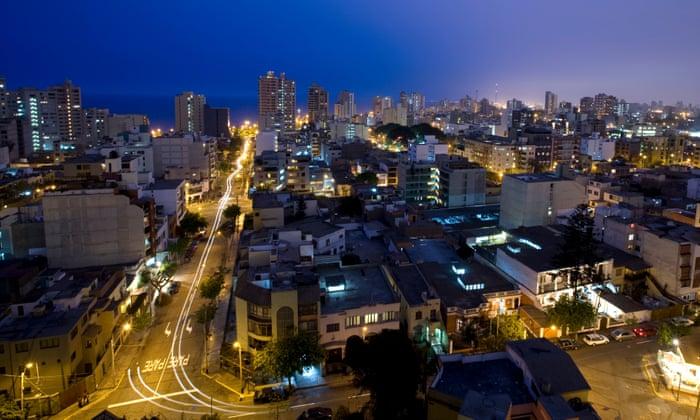 city at night descriptive writing