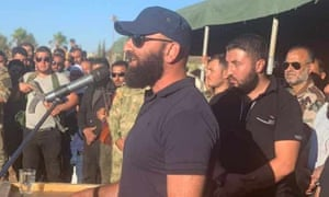 Ahmed al-Awda, Commander of the Eighth Brigade of the Russian-backed Fifth Corps in Daraa