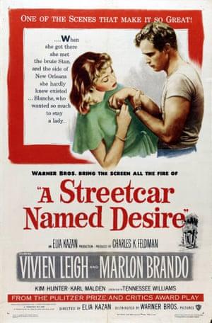 A Streetcar Named Desire, 1951.