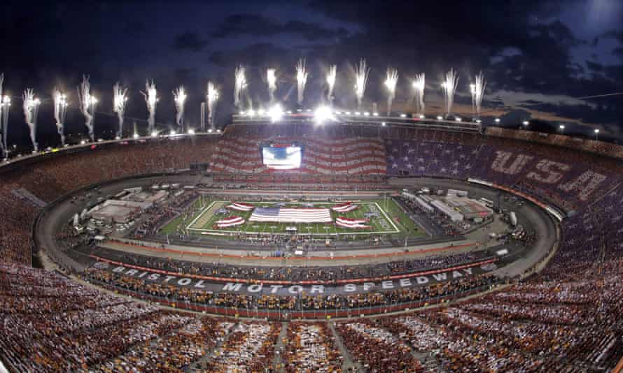 Nearly 157,000 people packed into Bristol Motor Speedway last weekend - but it was for a college football game