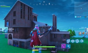 Intuitive and collaborative … Fortnite Creative mode.