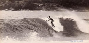 Frank Latta at Sandshoes reef 1964