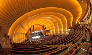 The view from the balcony, Radio City Music Hall, New York.