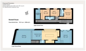 """The current layout offers open-plan living plus a """"beach cave"""" with promenade access to take advantage of the beachfront setting. But prospective buyers are advised to make their own inquiries first at Thanet District Council planning."""