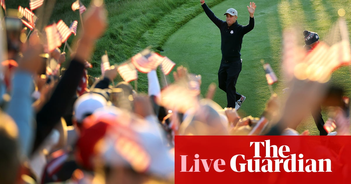 Ryder Cup: USA v Europe day one foursomes – live!