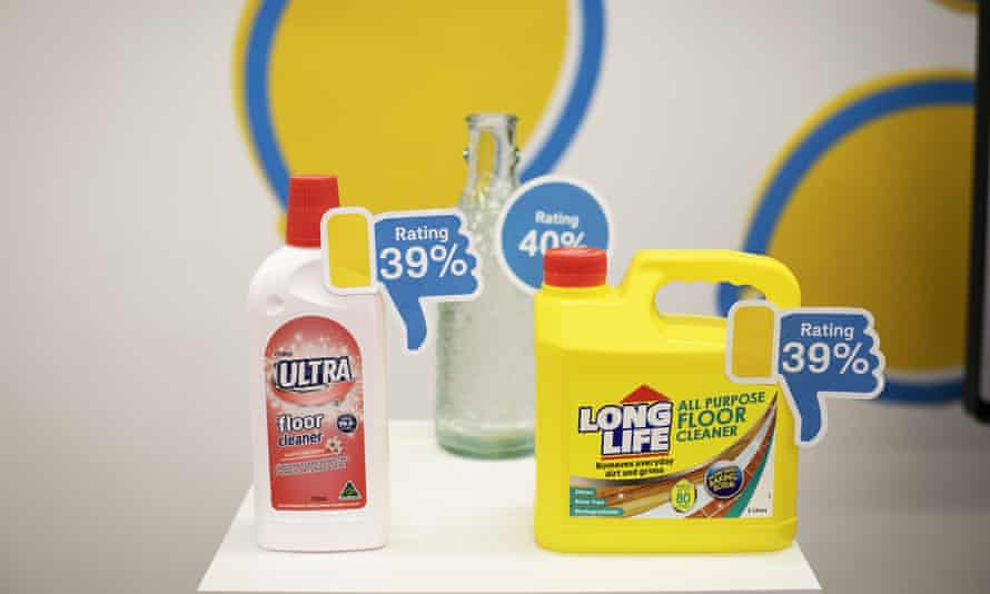 A selection of 'winning' floor cleaners.