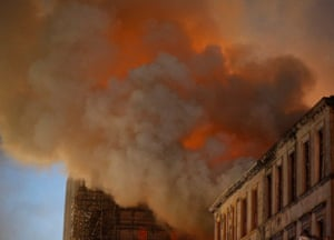 Sixty firefighters were initially called to the incident, but that number soon doubled.