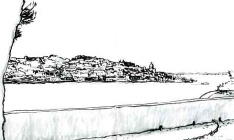 'Like an old vampire woman lingering in her eternity': Lisbon – a cartoon