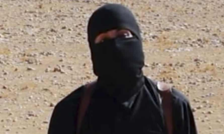 Isis militant who has been named as Mohammed Emwazi