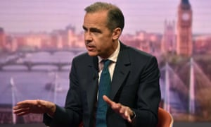 Mark Carney on the Andrew Marr Show last month.