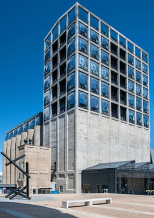 The Zeitz Museum of Contemporary Art Africa on Cape Town's waterfront.
