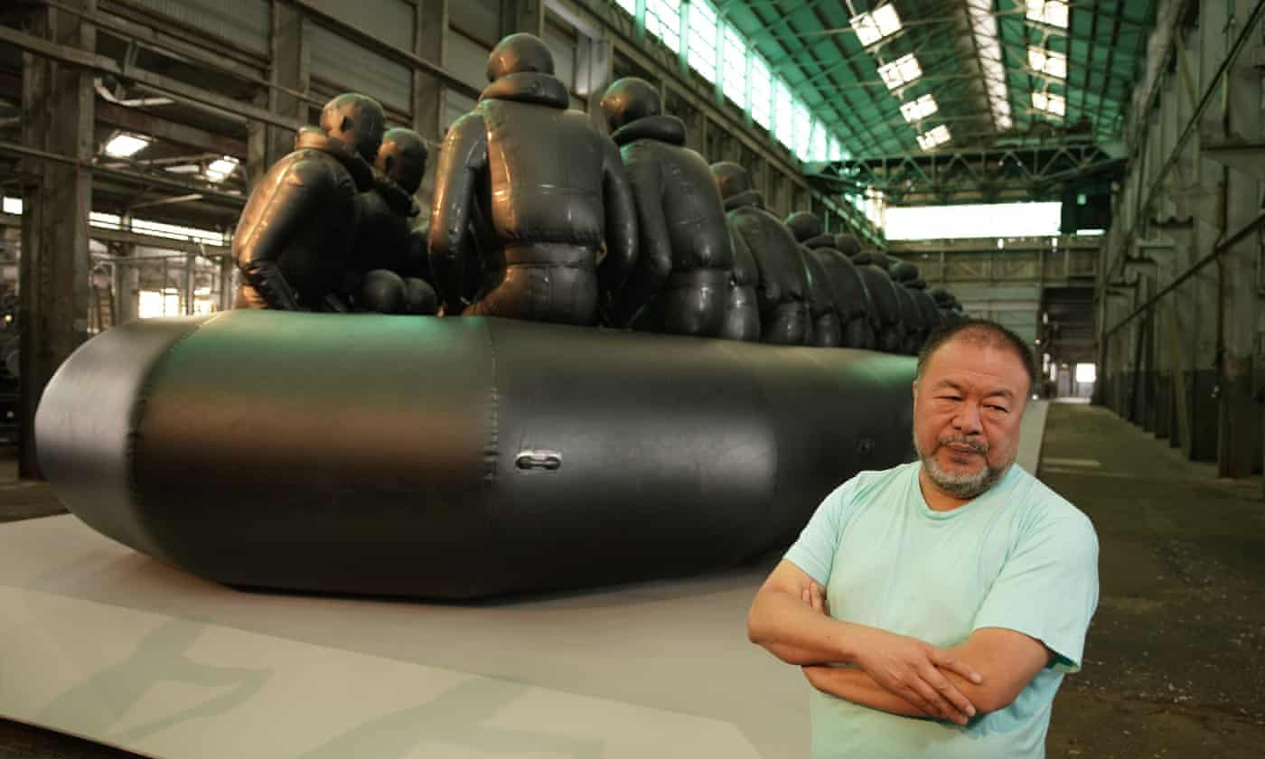 Ai Weiwei cites change in German attitudes as reason for move to UK