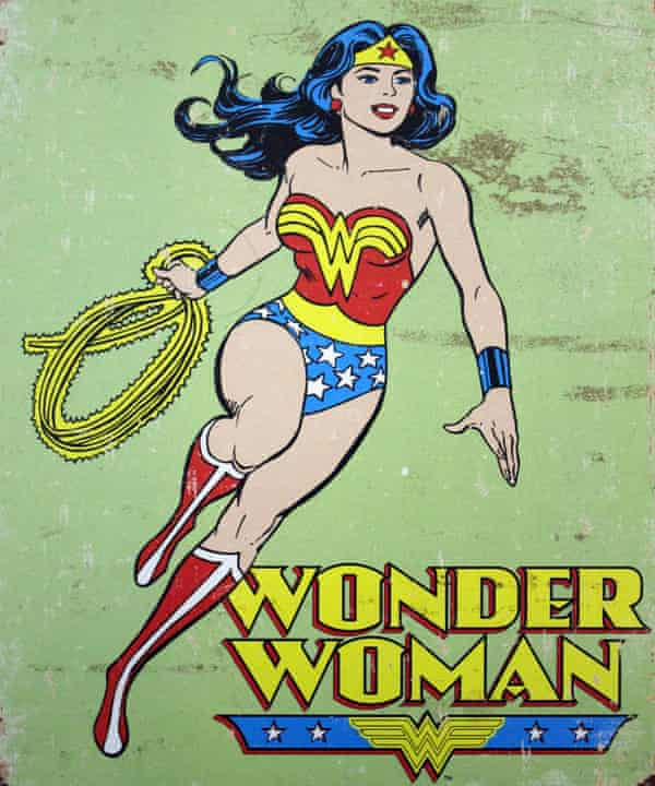 Wartime defender … Wonder Woman.