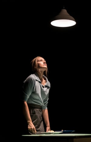 'Persuasively wan-faced and drained': Emily Berrington in Machinal