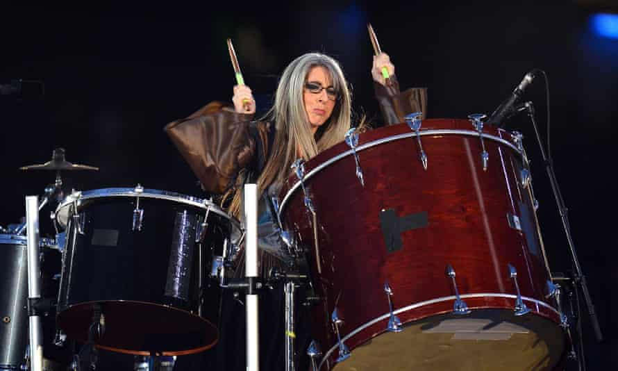 Percussionist Dame Evelyn Glennie performs at London 2012.