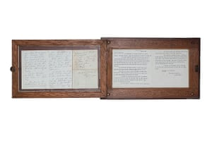 A hand-written letter, written by Florence Nightingale dated 5th March, 1861.