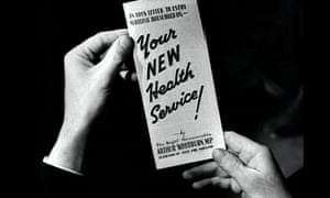 'Open to all, rich and poor' … the leaflet that announced the NHS to the British people