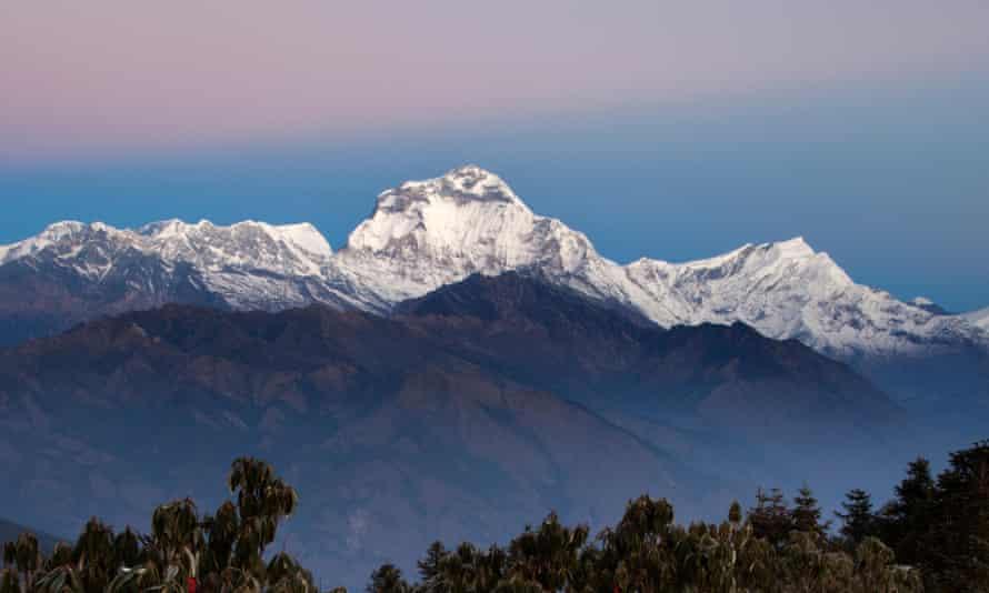 Dhaulagiri as seen from Ghorepani, Nepal