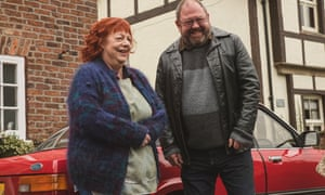Wisdom, humour and seriousness … Jo Brand and Mark Addy in The More You Ignore Me