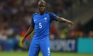 N'Golo Kante capped a fine season by making the France squad who reached the final of Euro 2016 on home soil. They lost 1-0 to Portugal.