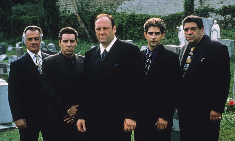 Ground-breaking ... The Sopranos.