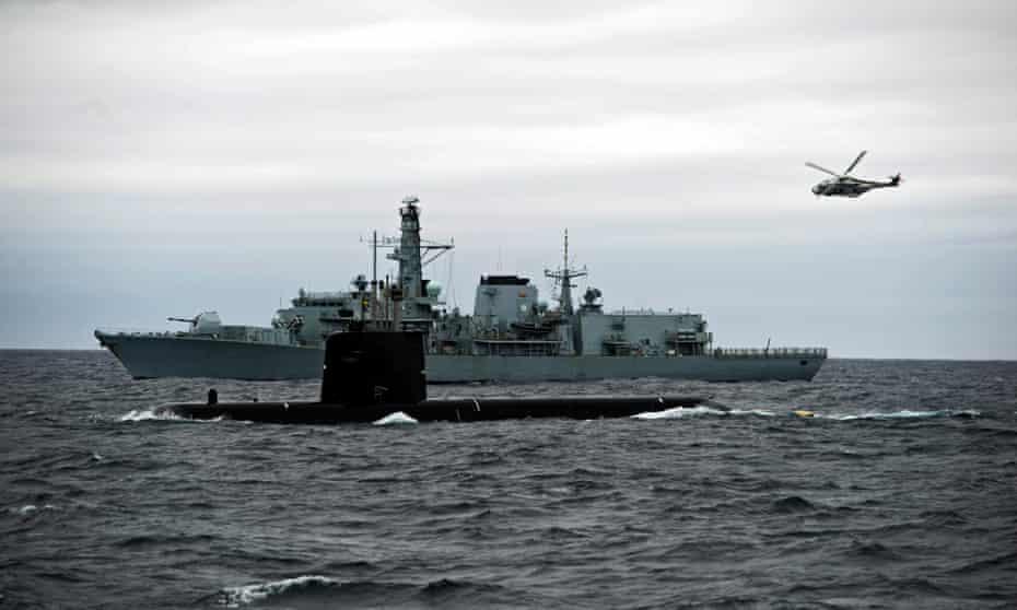 Swedish Navy submarine