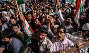 India has faced its worst unrest for years over the government's controversial citizenship law.
