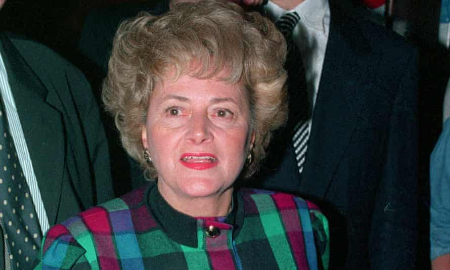Cynthia Payne, pictured in 1993