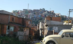 Car parked in Brasilândia