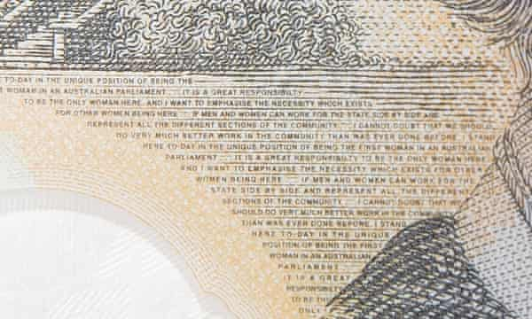 The new Australian $50 note has a typo in the text