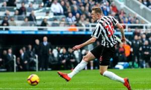 Sean Longstaff, Newcastle United v Huddersfield Town
