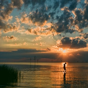 Stormy SunsetPhotograph: Janet Bongiovanni/GuardianWitness