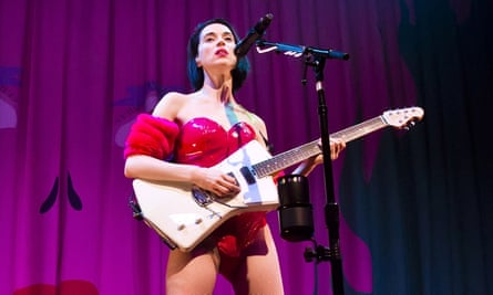 'Self-abasement and sex-as-power' ... St Vincent, AKA Annie Clark.
