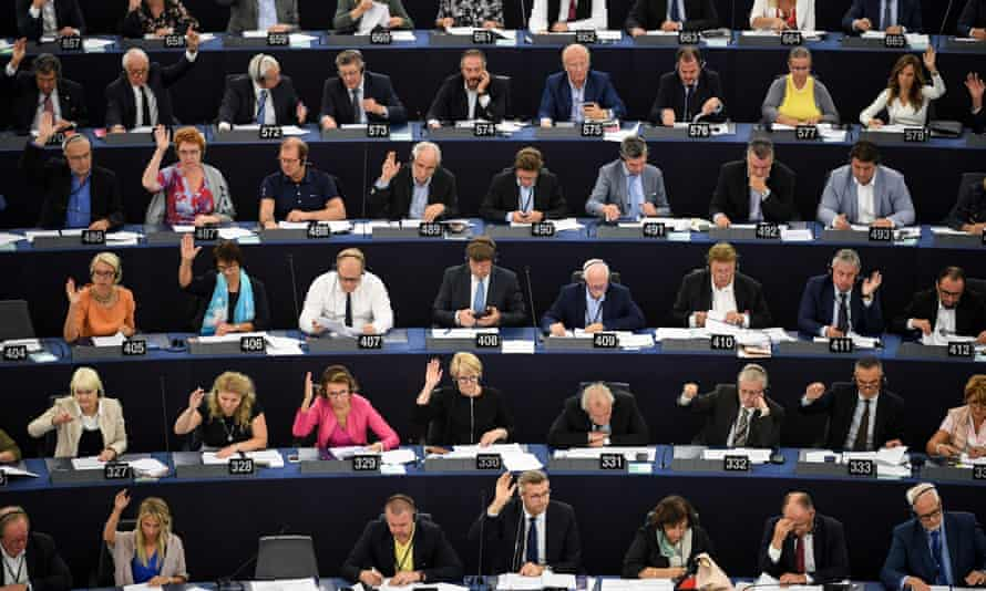 MEPs vote for an extension of copyright law.