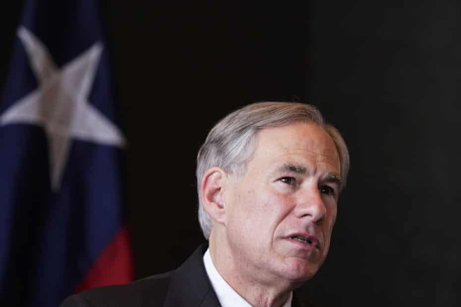 The Texas governor, Greg Abbott. After Democrats staged a walkout over a Republican bill on voting, he quickly announced he planned to call a special session to get the legislation passed.