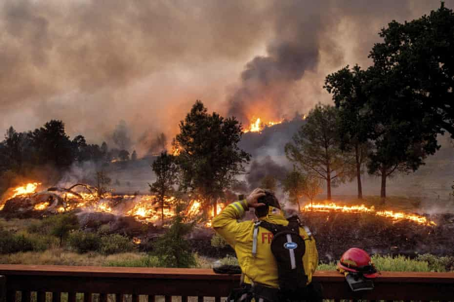 The LNU Lightning Complex fire is now the second largest in California's history.