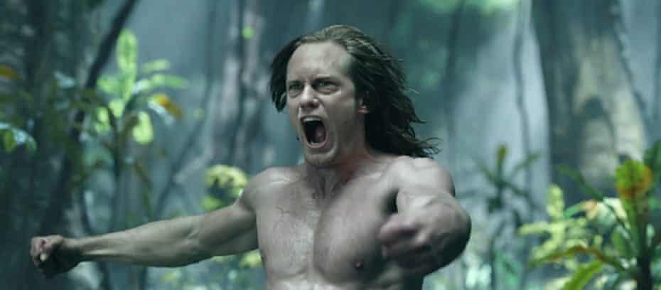 Alexander Skarsgård in The Legend of Tarzan.