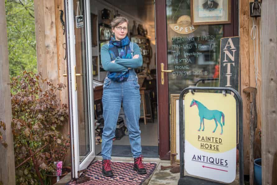 Shopkeeper Yasmeen Hollenstein