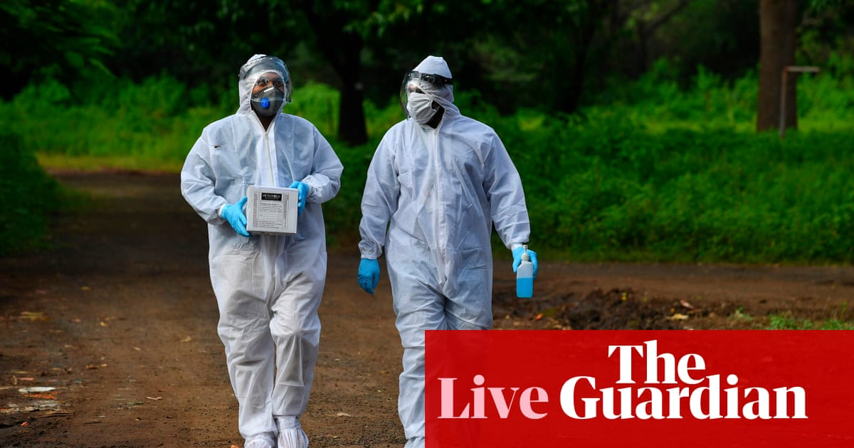 Coronavirus live news: WHO reports record new global cases; Israel becomes first country to reimpose lockdown – The Guardian