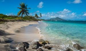Long Haul Bay, Nevis.