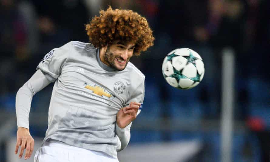 Manchester United's Marouane Fellaini says the boots hurt and affected his performances.