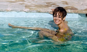 Audrey Hepburn, pictured in the South of France during the filming of 'Two for the Road' on 4th September 1966.