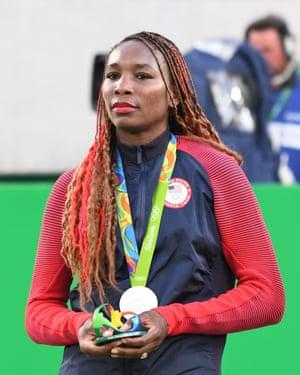 Venus Williams in Rio.