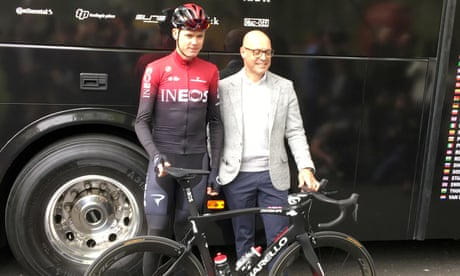 Chris Froome tight-lipped over possible departure from Team Ineos