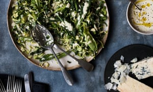 Anna Jones's greens and brussels sprout caesar slaw.